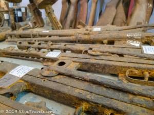 UXO Museum Rusty Guns