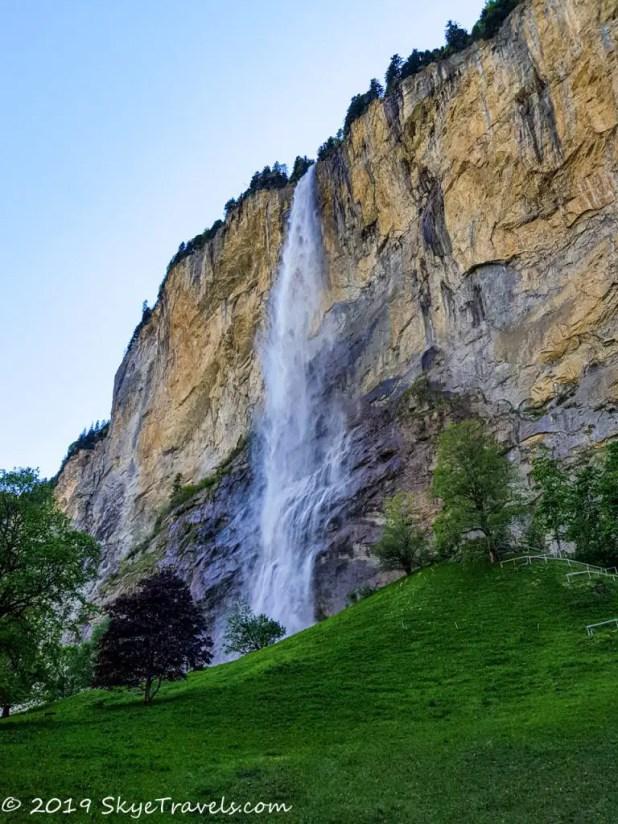 Staubbach Waterfall in Switzerland