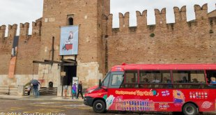 Verona Hop On, Hop Off Bus Tour at Castle Vecchio