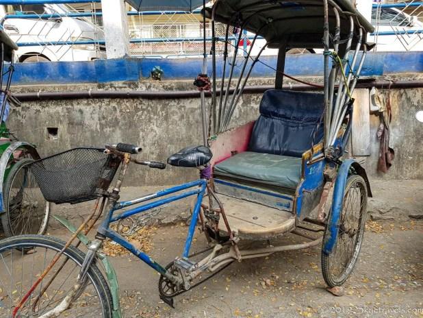 Rickshaw in Malaysia