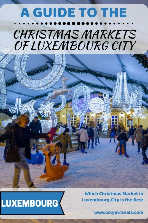 To get the holiday season started, my girlfriend and I decided to visit the Christmas market in Luxembourg first. There are three Christmas markets! #VisitLuxembourg #ChristmasMarkets #LuxembourgCity #Holidays