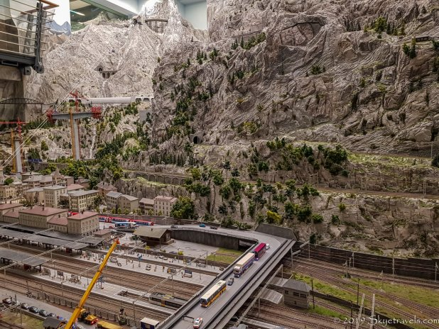 The Swiss Alps in Miniatur Wunderland