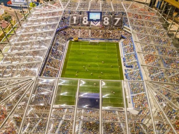 Volksparkstadion Stadium at Miniatur Wunderland
