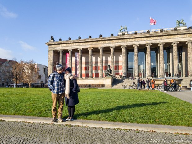 Laura and I at the Museum in Berlin