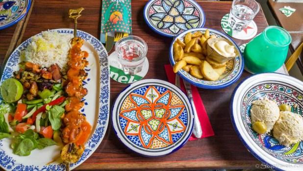 Dish at Bazar in Rotterdam #2