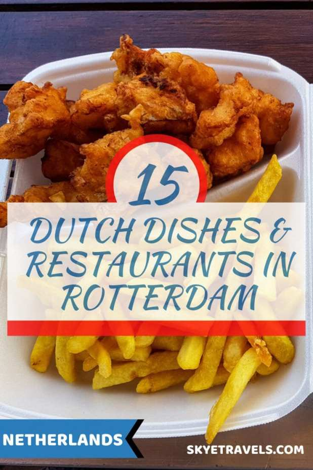 Dishes and Restaurants in Rotterdam Pin