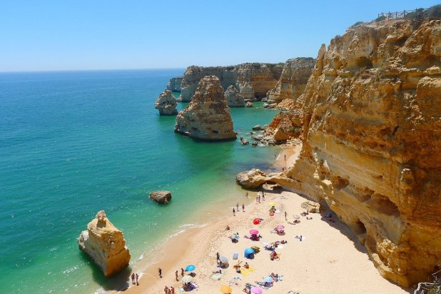 Algarve Coastal Beach