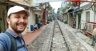 Selfie on Railroad Street