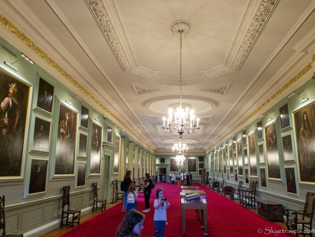 Holyrood Palace Great Gallery