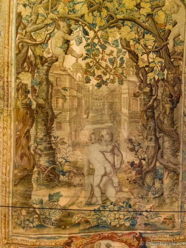 Holyrood Palace Ante-Chamber Tapestry