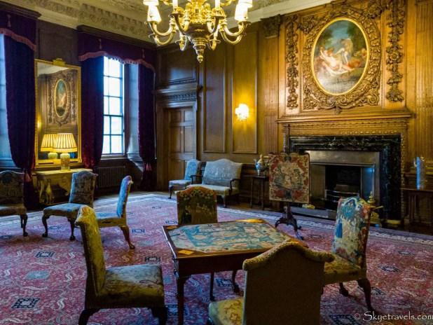 Holyrood Palace Privy Chambers