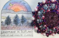 New for Easter at Skyeworks Gallery: Beaded Corsages