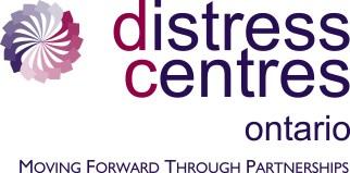 Distress centres Ontario logo