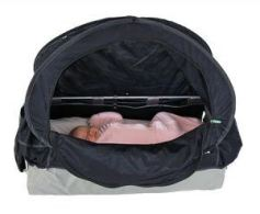 CoziGo plane bassinet sleep cover