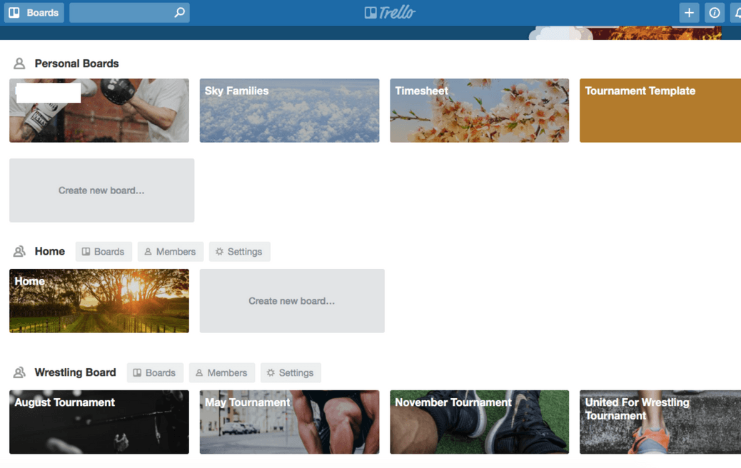 Best Family Organising Apps if you're pilot wife - Trello