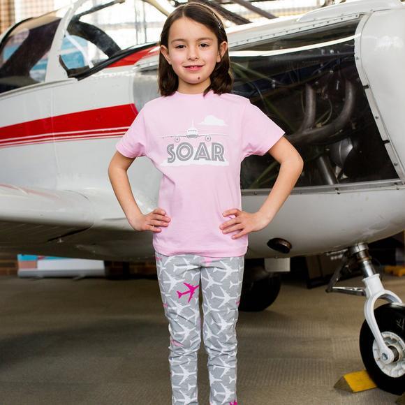 Plane_Leggings-and tshirt