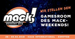 Save the Date: MACK Weekend 2018