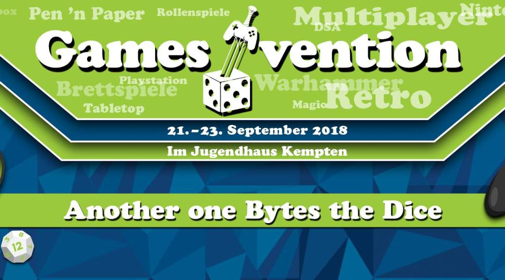 Gamesvention 2018 - 21. September – 23. September