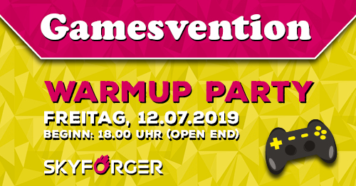 Gamesvention Warm-Up-Party