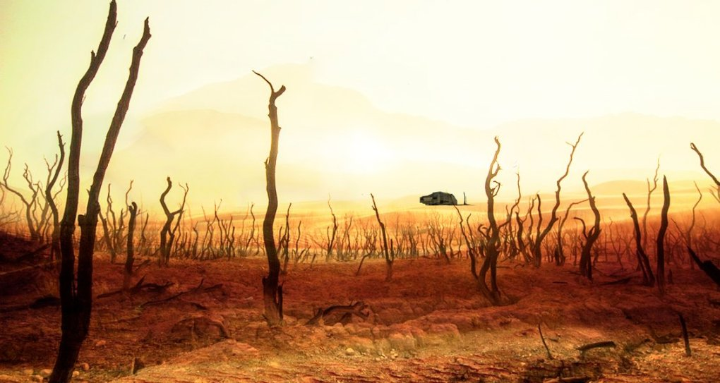 post-apocalyptic military science fiction book image