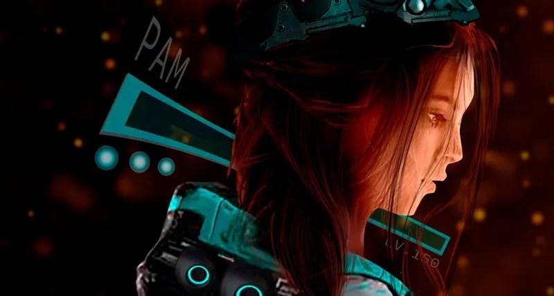 Pam closeup
