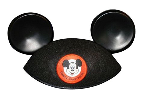 Pose with Mickey ears to help kids