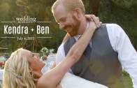 Kendra and Ben Wedding Highlights