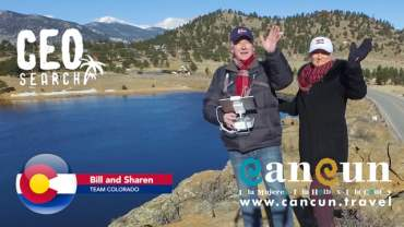 Holiday Visit to Estes Park Colorado for Cancun CEOSearch Top 50