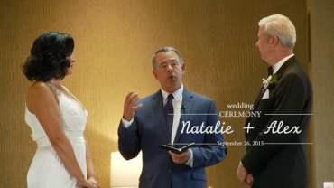 Natalie and Alex Wedding Ceremony