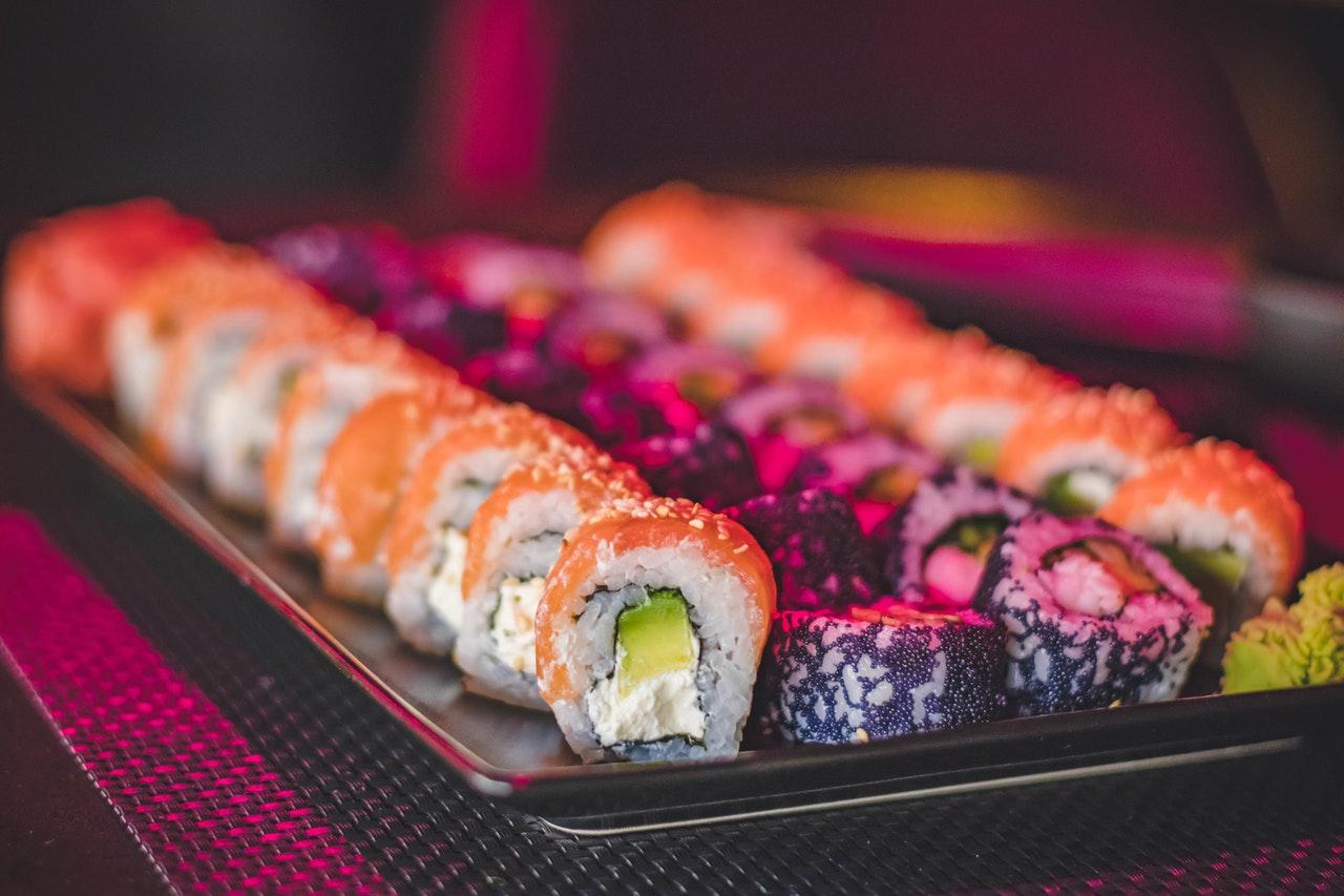 Na sushi i z powrotem