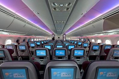 Qatar Airways - Boeing 787 - Economy Class