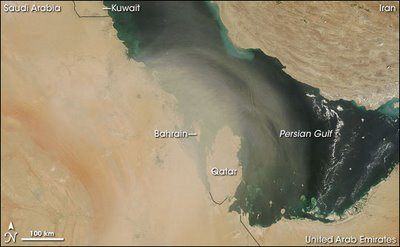 Dust in the air - 12 SEP 2007 by NASA