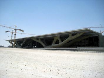 Drzewo - ta konstrukcja idealnie odzwierciedla jak ambitne plany ma Katar jeśli chodzi o edukację na najwyższym poziomie