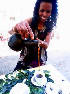 Kawa tradycyjnie. Etiopia