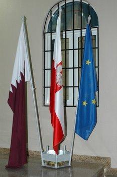 Katar, Polska, UE