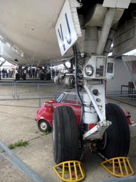 Muzealny 747 z floty AF