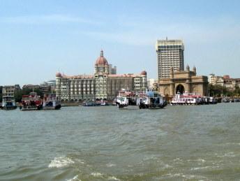 Bombaj - hotel Taj Mahal i Brama Indii