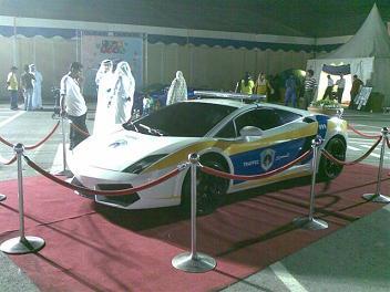 Katarska Drogówka - Lamborghini Gallardo