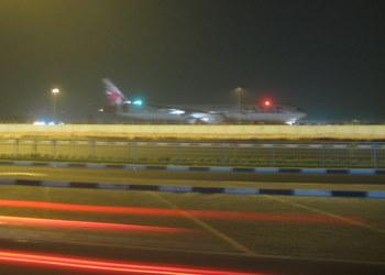 Qatar Airways w drodze na pas w Doha