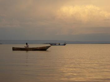 Uganda - Jezioro Wiktorii