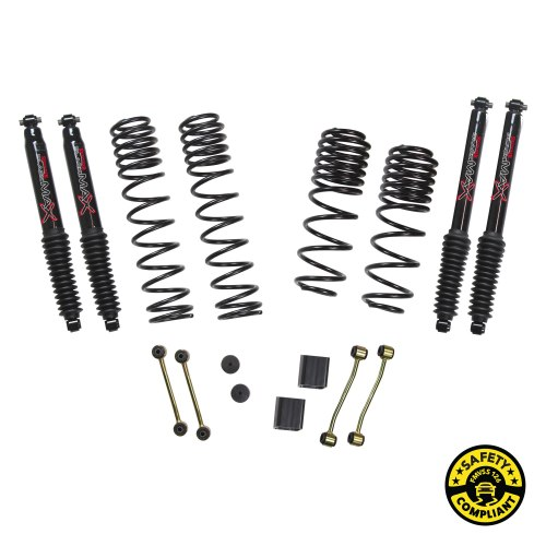 small resolution of jl20bpblt jeep wrangler jl 2 door 4wd 2 2 5 in dual rate long travel lift kit system with black max shocks skyjacker suspensions