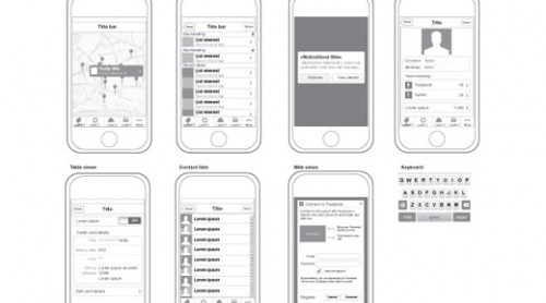 21 Brand-New Web & Mobile UI Wireframe Kits