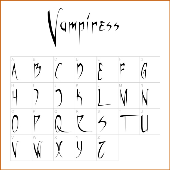 20 Best Scary Fonts