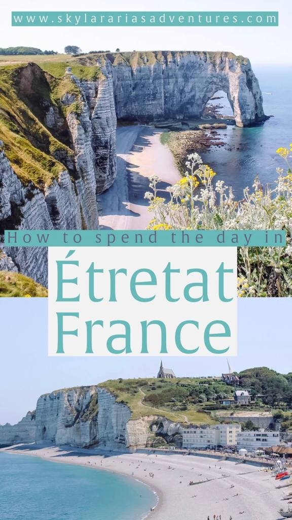 Day trip to Etretat France