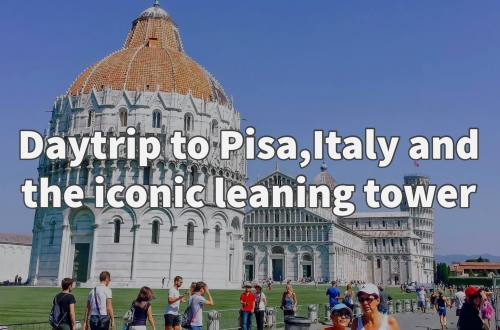 Day trip to Pisa Italy