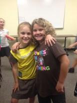 Hannah and Emma