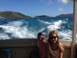 Ferry from Marina Cay to Trellis Bay
