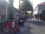 The smart streets of Gustavia.