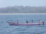 Fishermen in the Las Perlas Isles