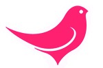 logo website pink